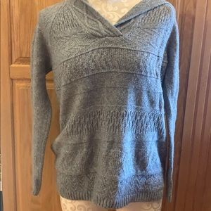 Grey Sonoma Hooded Sweater